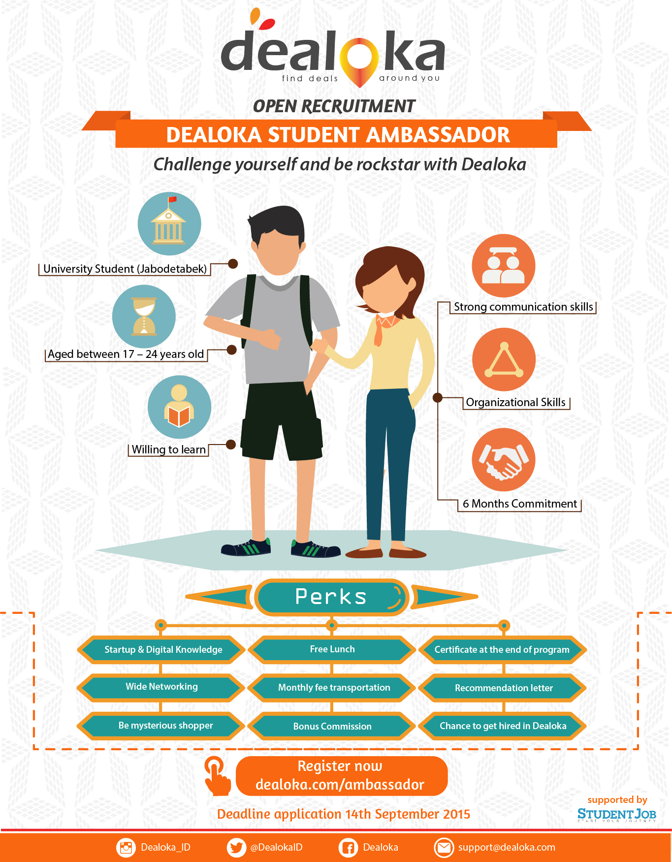 Poster Dealoka Student Ambassador Program