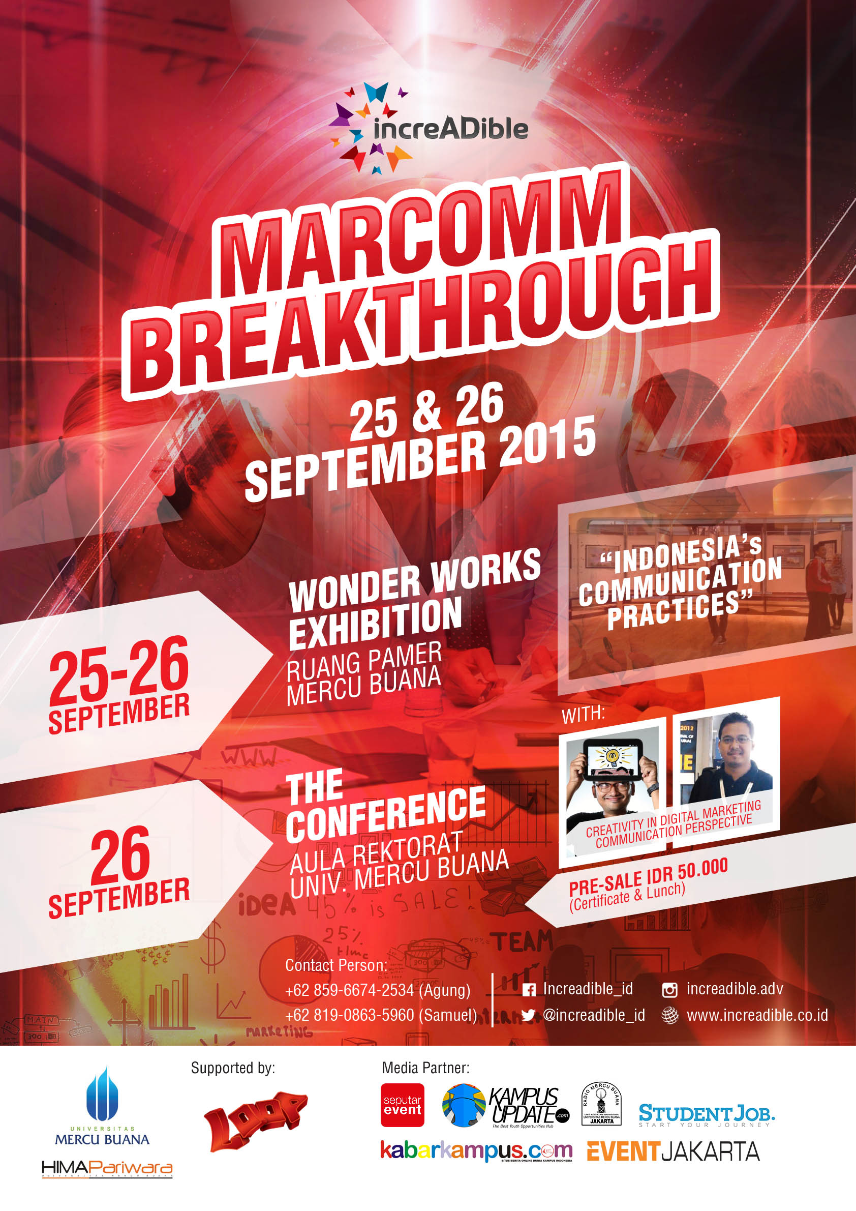 POSTER MARCOM BREAKTHROUGH