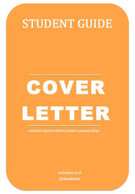 panduan menulis cover letter