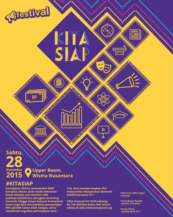 Indonesian Youth Conference Festival 2015