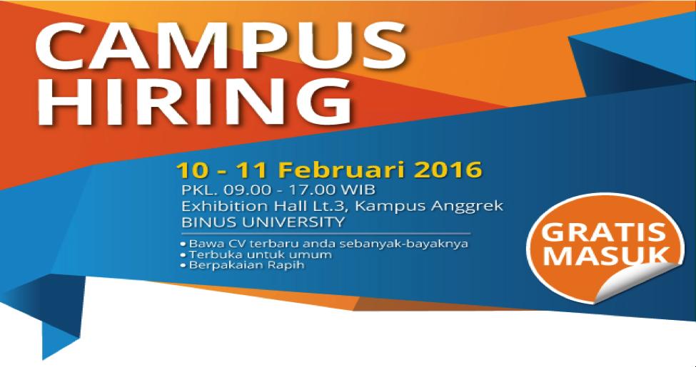 campus hiring binus