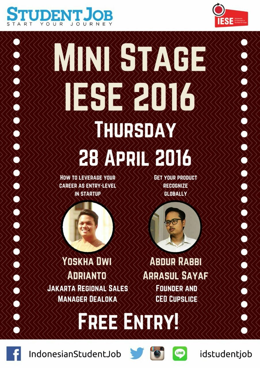 Mini Stage IESE Kamis 28 April