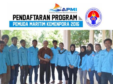 pendaftaran pemuda maritim kemenpora