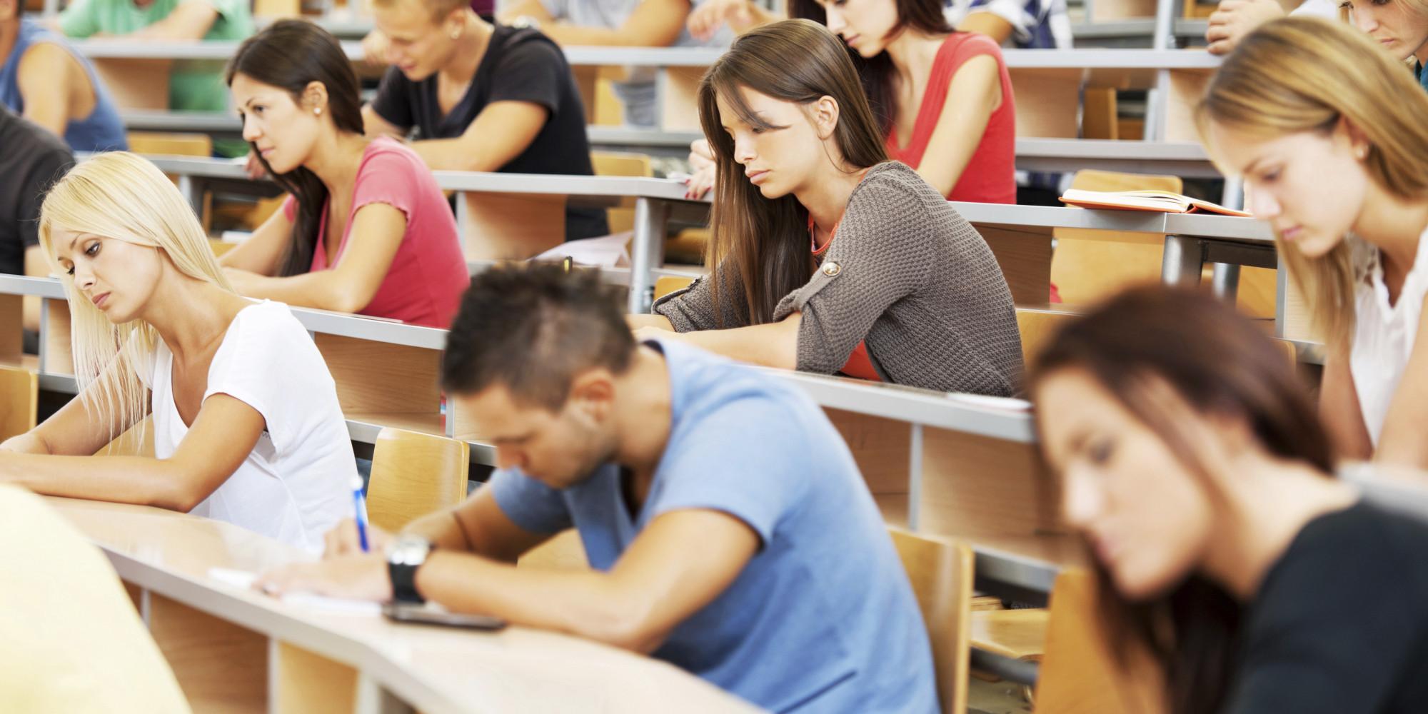 an a student